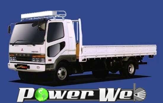 [CF623C] TUFREQ (精興工業 タフレック) トラック用キャリア Cシリーズ 三菱ふそう ファイター 標準キャブ(ベットレス車除く) H4.6~ FK 【沖縄/離島発送不可商品】
