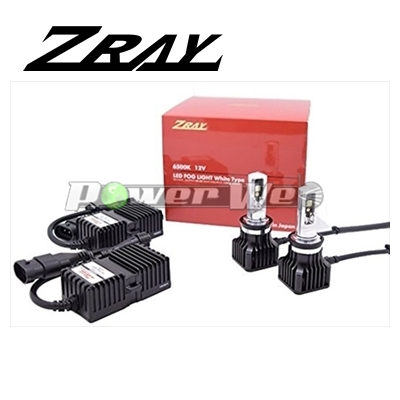 [RF1] ZRAY フォグランプ用 LEDバルブ 12V用 H8/H11/H16 6500K