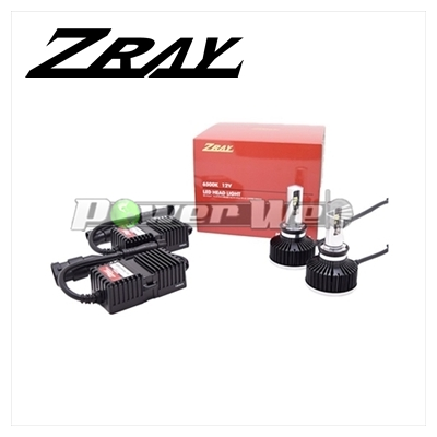 [RH2] ZRAY ヘッドランプ用 LEDバルブ 12V用 H9/H11 6500K