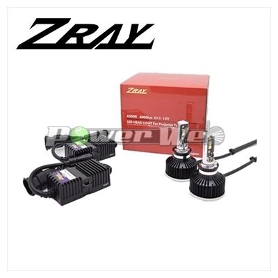 [RH4] ZRAY ヘッドランプ用 LEDバルブ 12V用 HB3/HB4 6500K