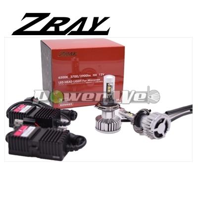 [RK1] ZRAY 軽貨物車専用 H4 ヘッドランプ用 LEDバルブ 12V用 H4(軽貨物車専用) 6500K