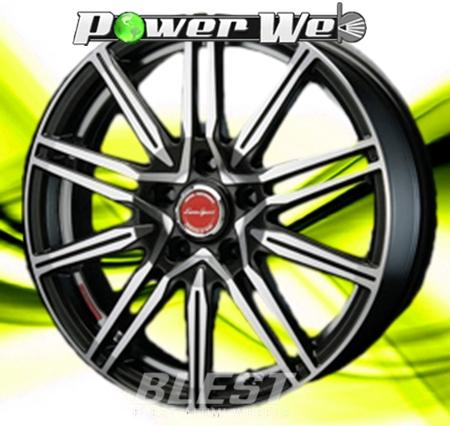 [ホイールのみ単品4本セット] BLEST / EuroSport Regulus A1 (MBKP) 16インチ×6.0J PCD:100 穴数:5 インセット:45