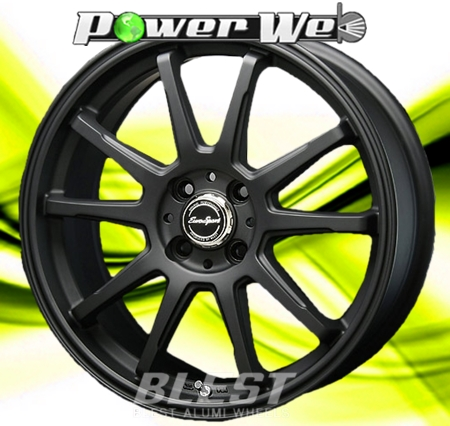 [ホイール1本(単品)] BLEST / EuroSport Type SS-01 (MBK) 15インチ×5.0J PCD:100 穴数:4 インセット:45