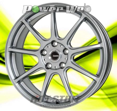 [ホイールのみ単品4本セット] HOT STUFF / G.speed G01 (MSL) 18インチ×7.5J PCD:114.3 穴数:5 インセット:38