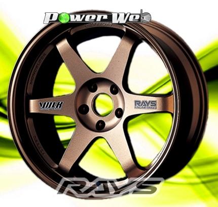 [ホイール1本(単品)]RAYS / VOLK RACING TE37 (BR) 14インチ×6.0J PCD:100 穴数:4 インセット:38