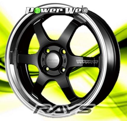 [ホイール1本(単品)]RAYS / VOLK RACING TE37 KCR (BK/FDMC) 16インチ×5.5J PCD:100 穴数:4 インセット:45