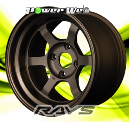 [ホイール1本(単品)]RAYS / VOLK RACING TE37V (BR) 15インチ×7.0J PCD:100 穴数:4 インセット:18