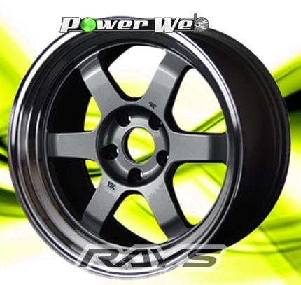 [ホイール1本(単品)]RAYS / VOLK RACING TE37V (GM) 14インチ×8.5J PCD:100 穴数:4 インセット:-5