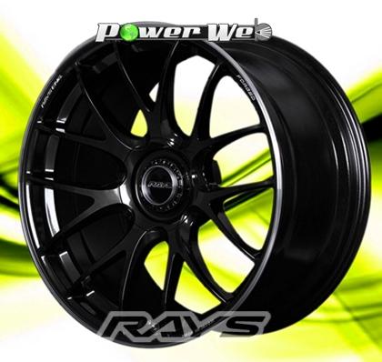 [ホイール1本(単品)]RAYS / VOLK RACING G27 (FSL/BK) 20インチ×8.5J PCD:114.3 穴数:5 インセット:38