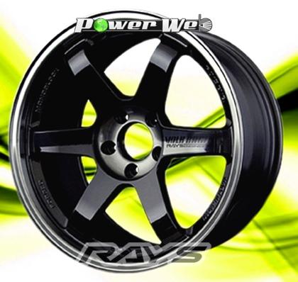 [ホイール1本(単品)]RAYS / VOLK RACING TE37SL (PWB) 17インチ×8.5J PCD:114.3 穴数:5 インセット:40
