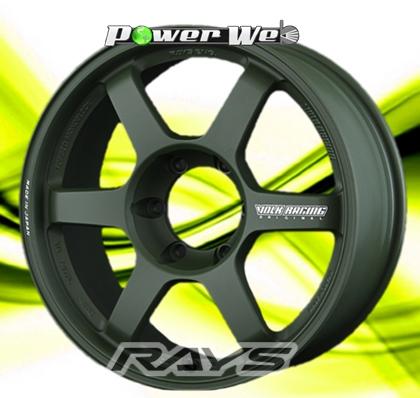 [ホイールのみ単品4本セット]RAYS / VOLK RACING TE37 LARGE P.C.D. Progressive Model (MG) 18インチ×8.0J PCD:139.7 穴数:6 インセット:20
