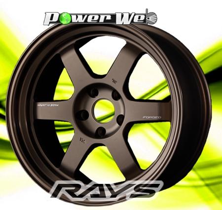 [ホイール1本(単品)] RAYS / VOLK RACING TE37V MARK-II (BR) 18インチ×9.5J PCD:114.3 穴数:5 インセット:0