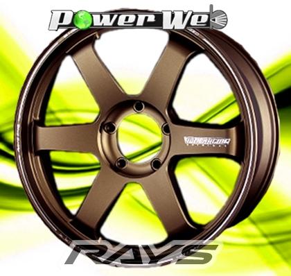 [ホイール1本(単品)] RAYS / VOLK RACING TE37 ultra LARGE P.C.D (BR) 22インチ×10.0J PCD:150 穴数:5 インセット:15