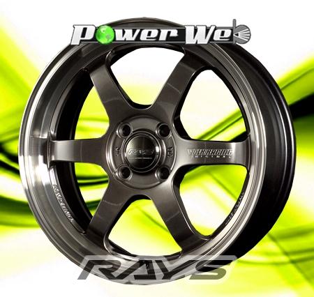 [ホイール1本(単品)] RAYS / VOLK RACING TE37 KCR (HB) 15インチ×5.5J PCD:100 穴数:4 インセット:45