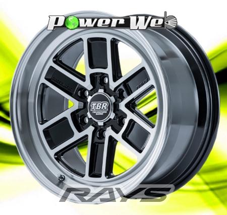 [ホイールのみ単品4本セット] RAYS / TWO BROTHERS RACING TB01 (BAZ) 16インチ×6.5J PCD:139.7 穴数:6 インセット:38