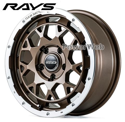 [ホイール1本(単品)] RAYS / DAYTONA M9 (Z5P) 16インチ×7.0J PCD:114.3 穴数:5 インセット:40