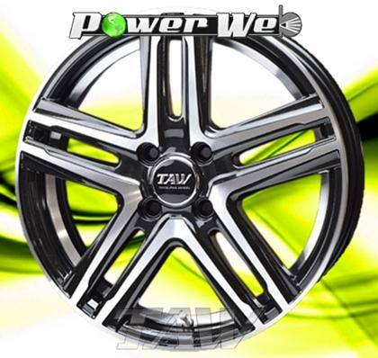 [ホイールのみ単品4本セット] TAW / Leowing S05 (MB/Po) 15インチ×5.0J PCD:100 穴数:4 インセット:45