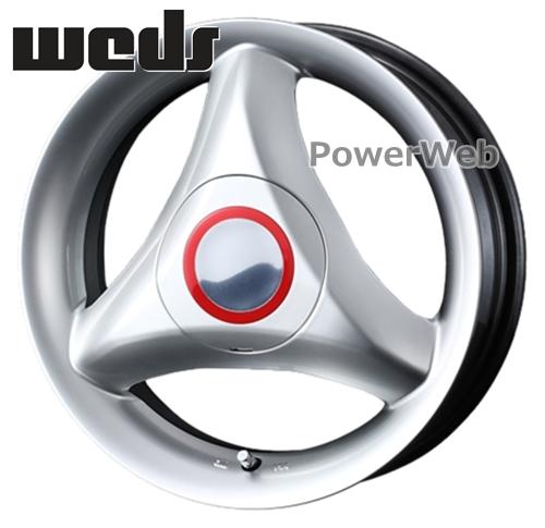 [ホイールのみ単品4本セット] Weds / RECREO S3 (HSL) 15インチ×4.5J PCD:100 穴数:4 インセット:45