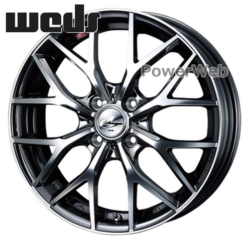 [ホイールのみ単品4本セット] Weds / LEONIS MX (BMC) 15インチ×4.5J PCD:100 穴数:4 インセット:45