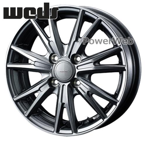 [ホイールのみ単品4本セット] Weds / VELVA KEVIN (GM) 15インチ×5.5J PCD:100 穴数:4 インセット:42