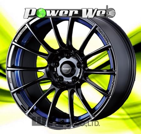 [ホイールのみ単品4本セット] WedsSport / SA72R (BLCII) 18インチ×8.5J PCD:114.3 穴数:5 インセット:35