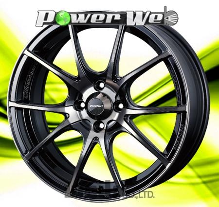 [ホイールのみ単品4本セット] WedsSport / SA10R (ZBB) 15インチ×5.0J PCD:100 穴数:4 インセット:45
