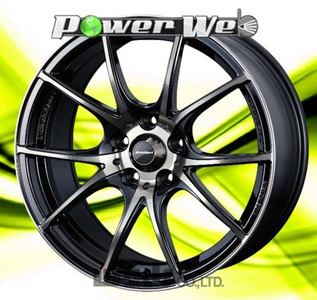 [ホイールのみ単品4本セット] WedsSport / SA10R (ZBB) 18インチ×7.5J PCD:114.3 穴数:5 インセット:35