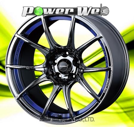 [ホイール1本(単品)] WedsSport / SA10R (BLC) 18インチ×8.5J PCD:114.3 穴数:5 インセット:45