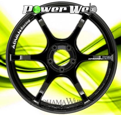 [ホイール1本(単品)] YOKOHAMA WHEEL / ADVAN Racing RGIII (RGB) 18インチ×7.0J PCD:100 穴数:4 インセット:42