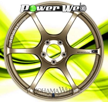 [ホイール1本(単品)] YOKOHAMA WHEEL / ADVAN Racing RGIII (RGG) 19インチ×9.0J PCD:114.3 穴数:5 インセット:25