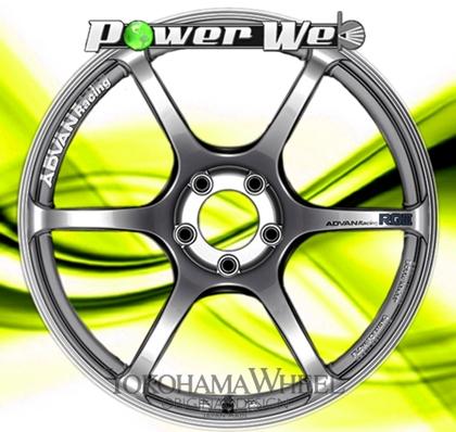 [ホイール1本(単品)] YOKOHAMA WHEEL / ADVAN Racing RGIII (HB) 19インチ×8.5J PCD:114.3 穴数:5 インセット:38