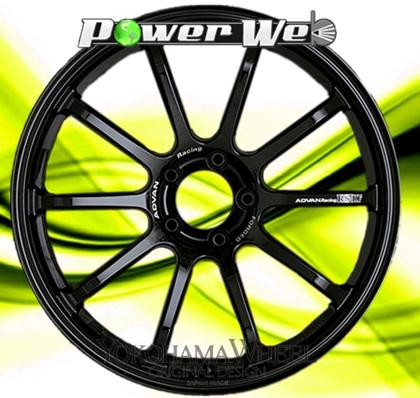 [ホイールのみ単品4本セット] YOKOHAMA WHEEL / ADVAN Racing RS-DF (RGB) 19インチ×8.0J PCD:100 穴数:5 インセット:47