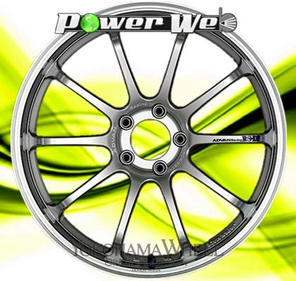 [ホイール1本(単品)] YOKOHAMA WHEEL / ADVAN Racing RS-DF (MHS) 19インチ×9.5J PCD:114.3 穴数:5 インセット:29