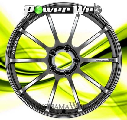 [ホイール1本(単品)] YOKOHAMA WHEEL / ADVAN Racing RSII (HB) 19インチ×9.0J PCD:114.3 穴数:5 インセット:45
