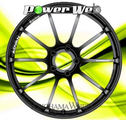 [ホイール1本(単品)] YOKOHAMA WHEEL / ADVAN Racing RSII (SGB) 20インチ×8.5J PCD:114.3 穴数:5 インセット:42