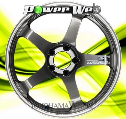 [ホイール1本(単品)] YOKOHAMA WHEEL / ADVAN Racing GT (MMB) 18インチ×9.0J PCD:114.3 穴数:5 インセット:43