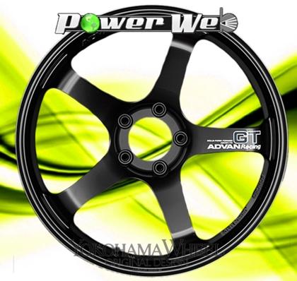 [ホイールのみ単品4本セット] YOKOHAMA WHEEL / ADVAN Racing GT (SGB) 19インチ×9.0J PCD:114.3 穴数:5 インセット:25