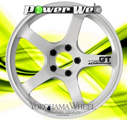 【逸品】 [ホイールのみ単品4本セット] YOKOHAMA WHEEL/ ADVAN Racing Racing GT GT (WW) WHEEL 18インチ×8.5J PCD:114.3 穴数:5 インセット:38, 臼杵市:02c05835 --- growyourleadgen.petramanos.com