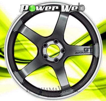 [ホイール1本(単品)] YOKOHAMA WHEEL / ADVAN Racing GT (MHB) 20インチ×9.0J PCD:120 穴数:5 インセット:20