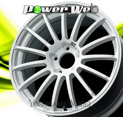 [ホイール1本(単品)] YOKOHAMA WHEEL / ADVAN Racing RT (WW) 17インチ×7.5J PCD:100 穴数:5 インセット:38
