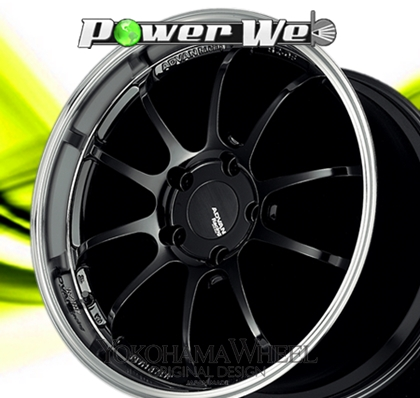 [ホイールのみ単品4本セット] YOKOHAMA WHEEL / ADVAN Racing RZ-DF (MB) 19インチ×11.0J PCD:130 穴数:5 インセット:40