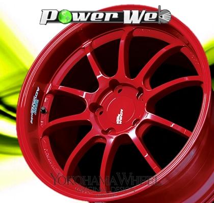 [ホイールのみ単品4本セット] YOKOHAMA WHEEL / ADVAN Racing RZ-DF (RR) 19インチ×8.5J PCD:130 穴数:5 インセット:52