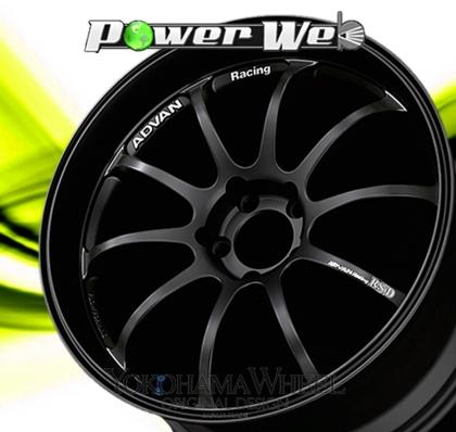 [ホイール1本(単品)] YOKOHAMA WHEEL / ADVAN Racing RS-D (BB) 17インチ×7.0J PCD:100 穴数:4 インセット:47