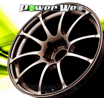 [ホイール1本(単品)] YOKOHAMA WHEEL / ADVAN Racing RZ (BZ) 17インチ×8.0J PCD:100 穴数:5 インセット:47