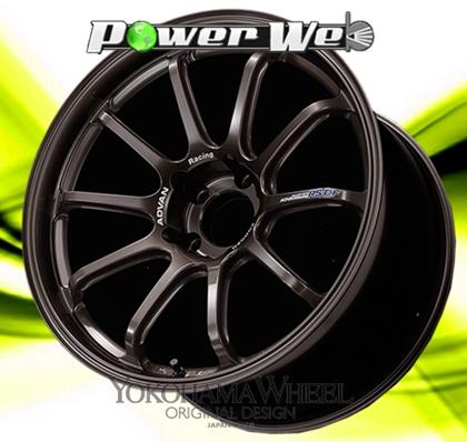[ホイール1本(単品)] YOKOHAMA WHEEL / ADVAN Racing RS-DF (DBM) 18インチ×8.5J PCD:100 穴数:5 インセット:45