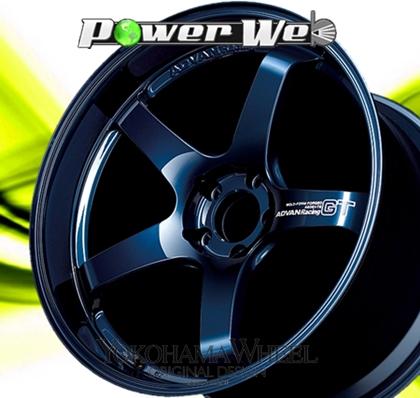 [ホイールのみ単品4本セット] YOKOHAMA WHEEL / ADVAN Racing GT (TBP) 20インチ×11.0J PCD:112 穴数:5 インセット:43