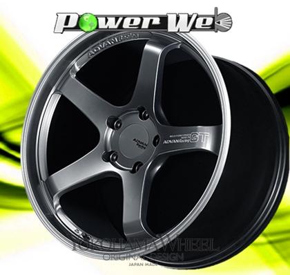 [ホイール1本(単品)] YOKOHAMA WHEEL / ADVAN Racing GT (HBRP) 20インチ×9.0J PCD:130 穴数:5 インセット:56