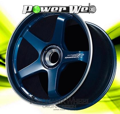 [ホイール1本(単品)] YOKOHAMA WHEEL / ADVAN Racing GT (TBRP) 20インチ×8.5J PCD:130 穴数:5 インセット:50