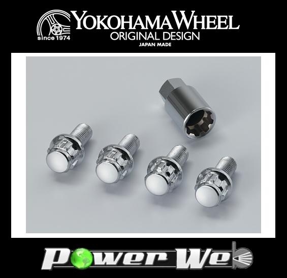 【Z6348】 YOKOHAMA WHEEL(ヨコハマホイール) KRS ロックボルト M12X1.75P H19 首下31mm (VOLVO(~2000))