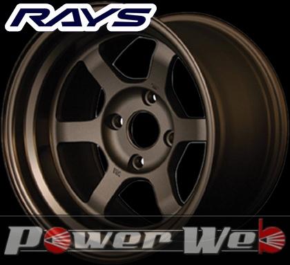 RAYS(レイズ) VOLK RACING TE37V (ボルクレーシング TE37V) 14インチ 9.0J PCD:114.3 穴数:4 inset:-15 カラー:ブロンズ [ホイール1本単位]M